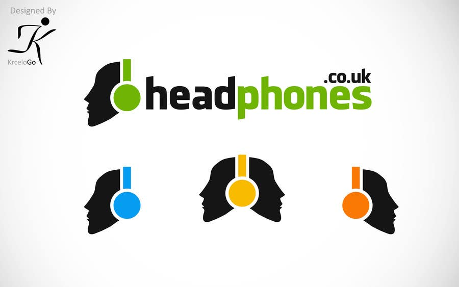 #218 for Design a Logo for Headphones.co.uk by Krcello
