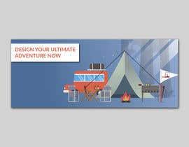Nro 2 kilpailuun Design a Banner for an Adventure Travel Website käyttäjältä worksuchit