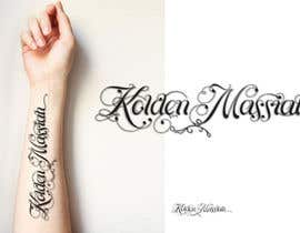 Nro 4 kilpailuun Tattoo Lettering käyttäjältä sandrasreckovic
