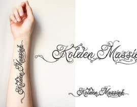 Nro 5 kilpailuun Tattoo Lettering käyttäjältä sandrasreckovic