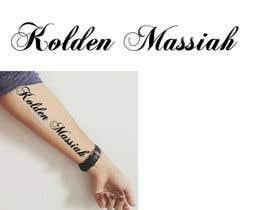 Nro 9 kilpailuun Tattoo Lettering käyttäjältä MuDesign