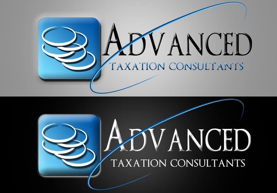 Penyertaan Peraduan #                                        104                                      untuk                                         Logo Design for Advanced Taxation Consultants