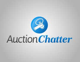 nº 26 pour Logo design contest for Auction Chatter par BiancaN