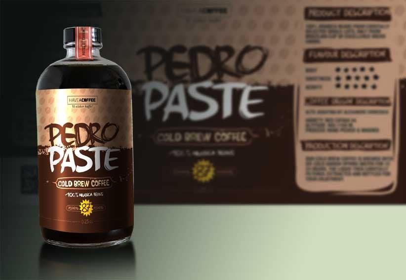 Kilpailutyö #46 kilpailussa Label design for a bottle (Cold brew coffee)