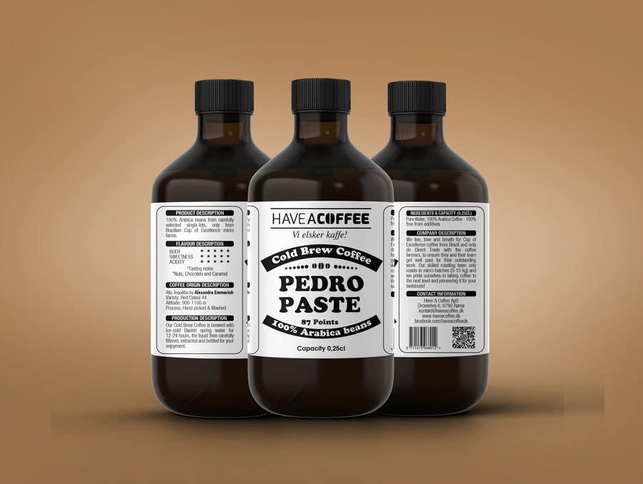 Kilpailutyö #35 kilpailussa Label design for a bottle (Cold brew coffee)