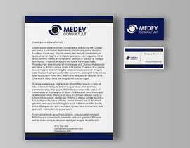 #204 para Design a Logo/Letterhead/Business Cards for MEDEV Consult JLT por creatvideas