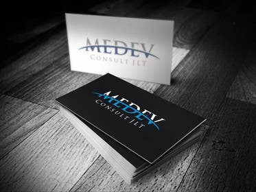 #289 para Design a Logo/Letterhead/Business Cards for MEDEV Consult JLT por kelikpujis