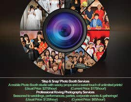 Nro 15 kilpailuun Design flyer for photography studio käyttäjältä firashamila