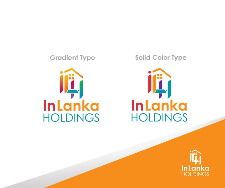 #45 for Design a Logo for IN LANKA HOLDINGS by zapanzajelo