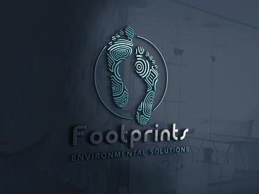 ingamul tarafından Logo for Footprints Environmental Solutions için no 4