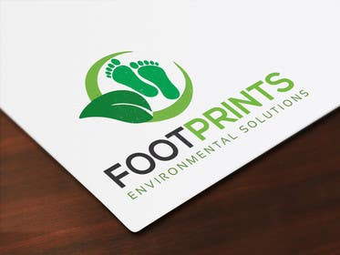 ingamul tarafından Logo for Footprints Environmental Solutions için no 23