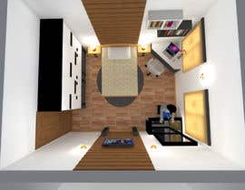 #24 for bedroom interior design by SaiSengMain
