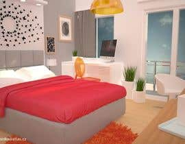 #27 for bedroom interior design by MooVe