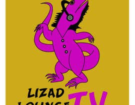 #48 para Logo design for live event streaming website: Lizard Lounge Tv por thinkingartt