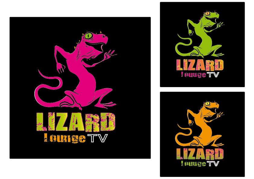 Bài tham dự cuộc thi #35 cho Logo design for live event streaming website: Lizard Lounge Tv