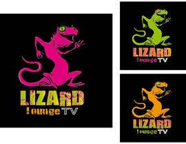 #35 for Logo design for live event streaming website: Lizard Lounge Tv af Queberry333