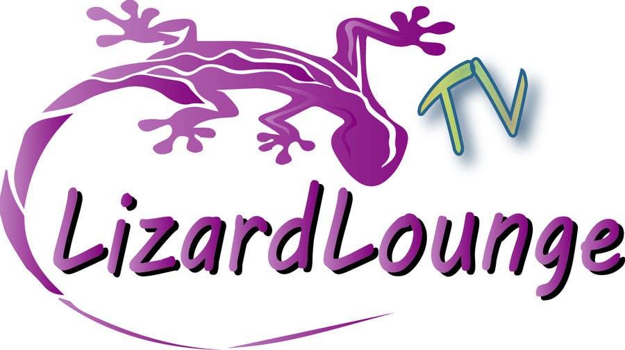 Bài tham dự cuộc thi #8 cho Logo design for live event streaming website: Lizard Lounge Tv