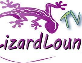 #8 para Logo design for live event streaming website: Lizard Lounge Tv por fabrirebo