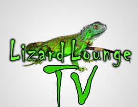 nº 36 pour Logo design for live event streaming website: Lizard Lounge Tv par stajera
