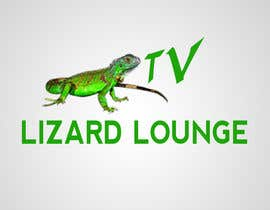 #39 para Logo design for live event streaming website: Lizard Lounge Tv por stajera