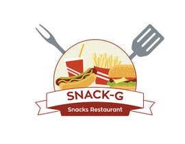 aajmanzalawy tarafından Design a Logo for: Snacks Restaurant için no 34