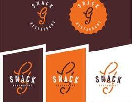 roman230005 tarafından Design a Logo for: Snacks Restaurant için no 42