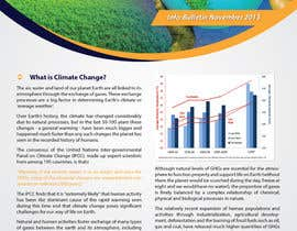 nº 20 pour Design a Info-Bulletin template for a climate change & agriculture awareness-raising par Brandwar