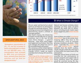 nº 19 pour Design a Info-Bulletin template for a climate change & agriculture awareness-raising par barinix
