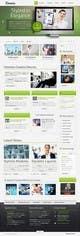 Kilpailutyön #1 pienoiskuva kilpailussa Design a layout of existing web site