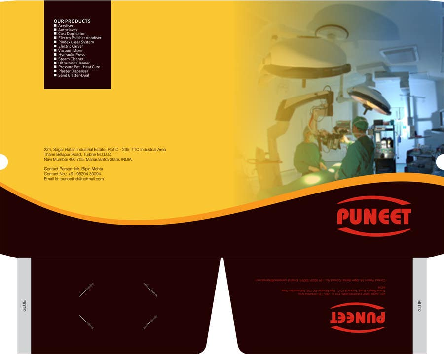 #7 for Design a Brochure for an Engineering Company by barinix