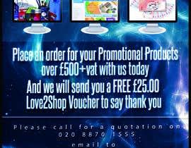 Nro 13 kilpailuun Order Promotional Products Today Flyer käyttäjältä firashamila