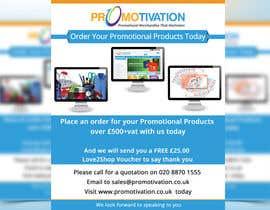 Nro 7 kilpailuun Order Promotional Products Today Flyer käyttäjältä mdmirazbd2015