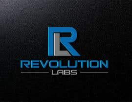 Nro 38 kilpailuun Revolution Labs Logo käyttäjältä shahadatmizi