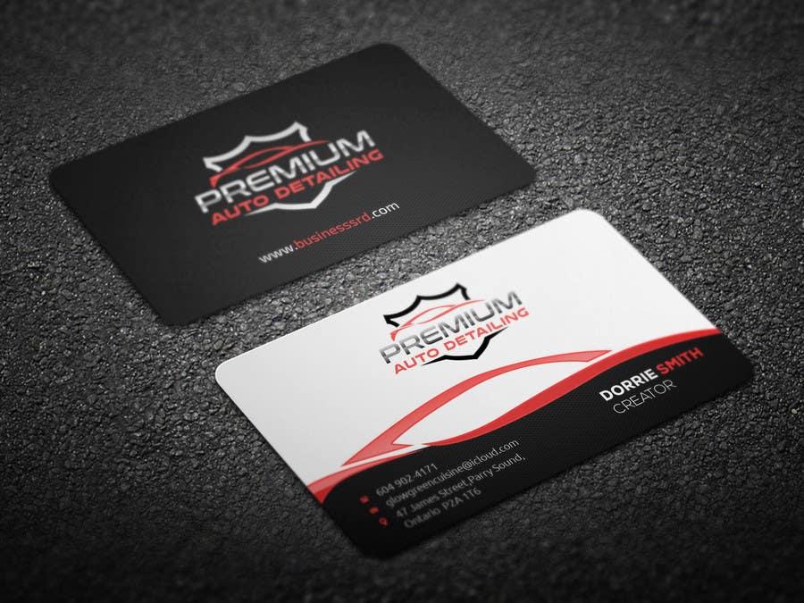 Kilpailutyö #38 kilpailussa Design a business card