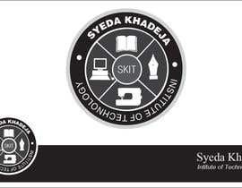 #71 for Design a Logo for SKIT (Syeda Khadeja Institute Of Technology ) af jamshaidrazaCG