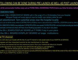 Nro 7 kilpailuun Provide the ideas for Media Planning of An upcoming Nursing Home Cum Diagnostic Center käyttäjältä karankar