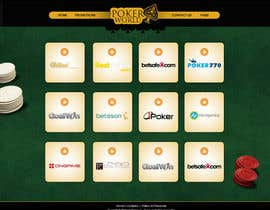 #19 untuk Home Page for a poker deals website oleh rainbowfeats