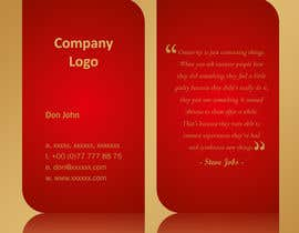 #25 cho Design modern business cards bởi linokvarghese