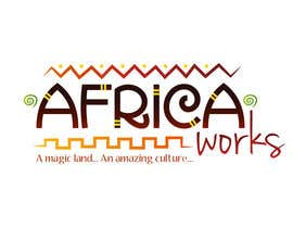 #208 para Logo Design for Africa Works por Grupof5