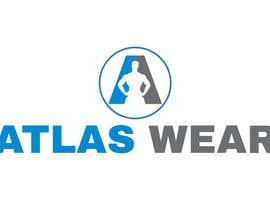 Nro 106 kilpailuun Creating Atlas Wear Logo (Fitness Company) käyttäjältä tjilon2014