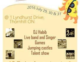 Nro 16 kilpailuun church festival poster käyttäjältä ChaNdika14