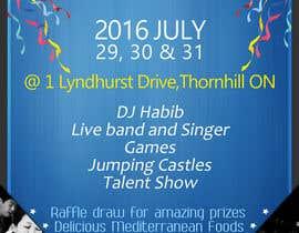 Nro 20 kilpailuun church festival poster käyttäjältä ChaNdika14