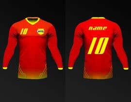 Nro 16 kilpailuun Design a soccer Jersey käyttäjältä Rhandyv