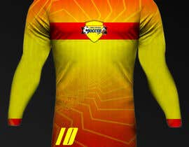 Nro 25 kilpailuun Design a soccer Jersey käyttäjältä Rhandyv
