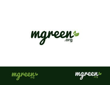 #153 para Design a Logo for mgreen por paxslg