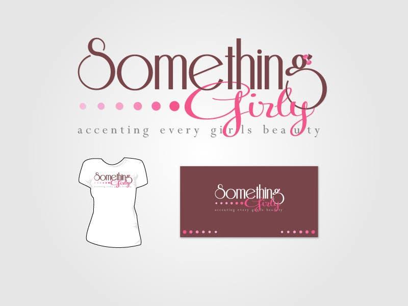 Inscrição nº                                         122                                      do Concurso para                                         Logo Design for Something Girly