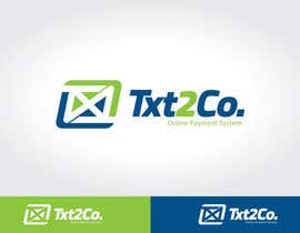 nº 345 pour Logo Design for Txt2 Co. par ivandacanay