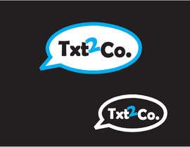 nº 62 pour Logo Design for Txt2 Co. par orosco