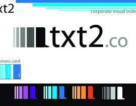 nº 282 pour Logo Design for Txt2 Co. par Smilian