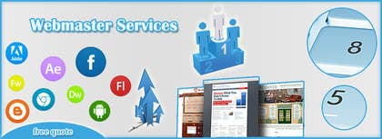 Graphic Design Contest Entry #8 for Design a Banner for website slider - Webmaster Services